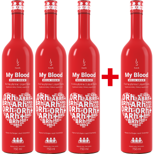 DuoLife My Blood Moja Krew | Promo 3+1 750 ml